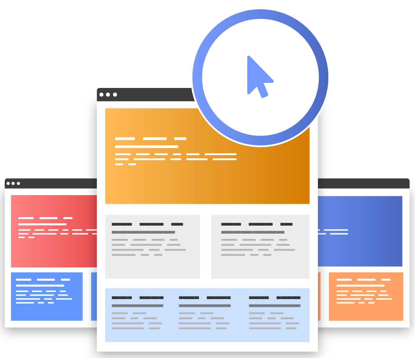 What we do Landing pages 10.75x