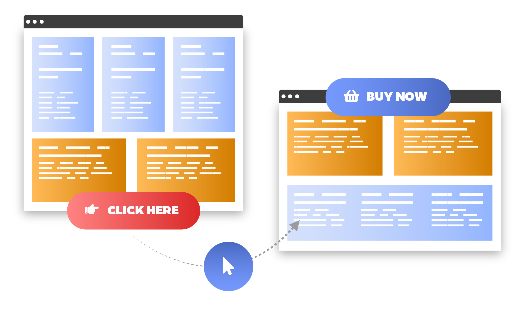 What we do Landing pages 40.75x