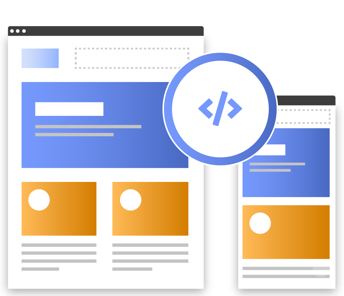 What we do Responsive web design 10.75x