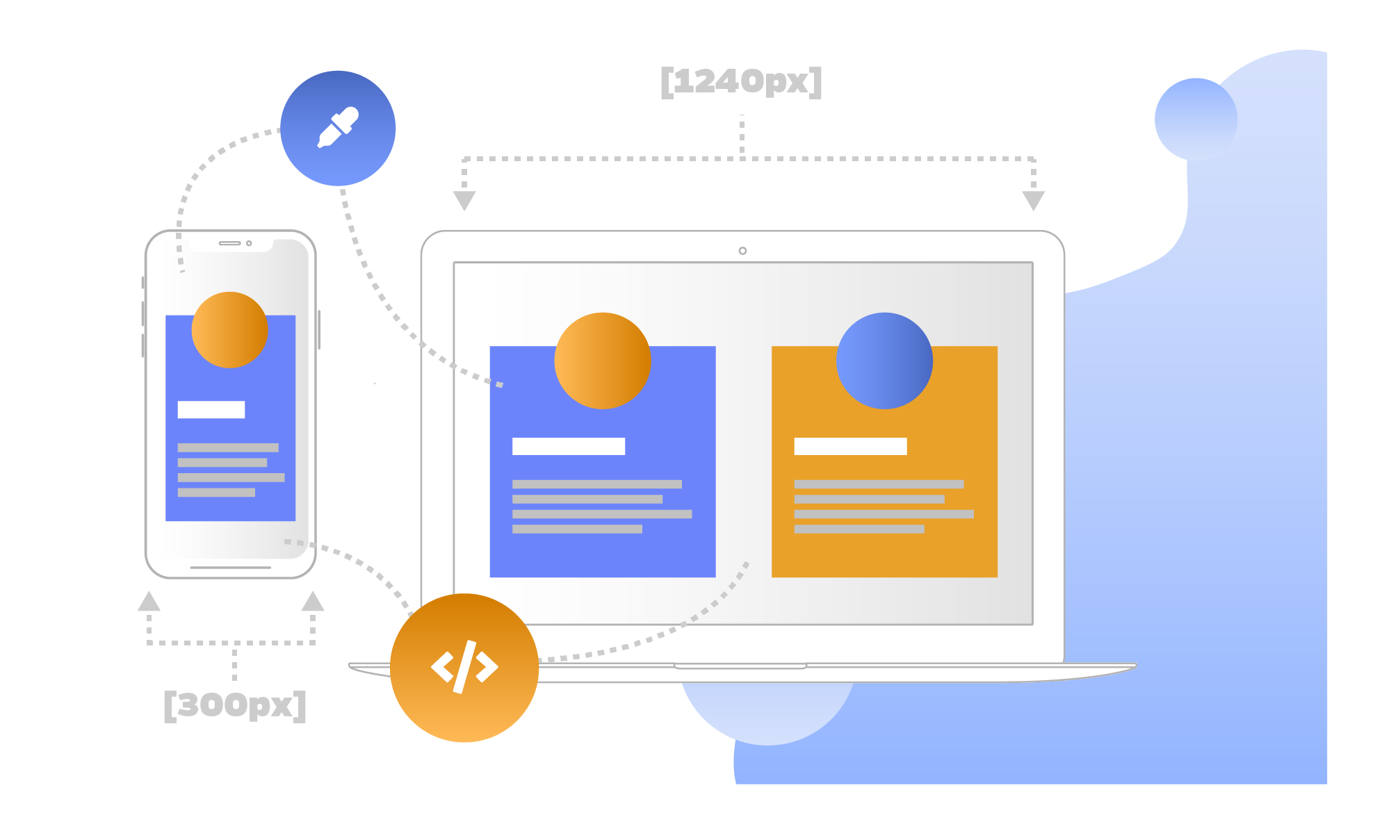 What we do Responsive web design 3 10.75x