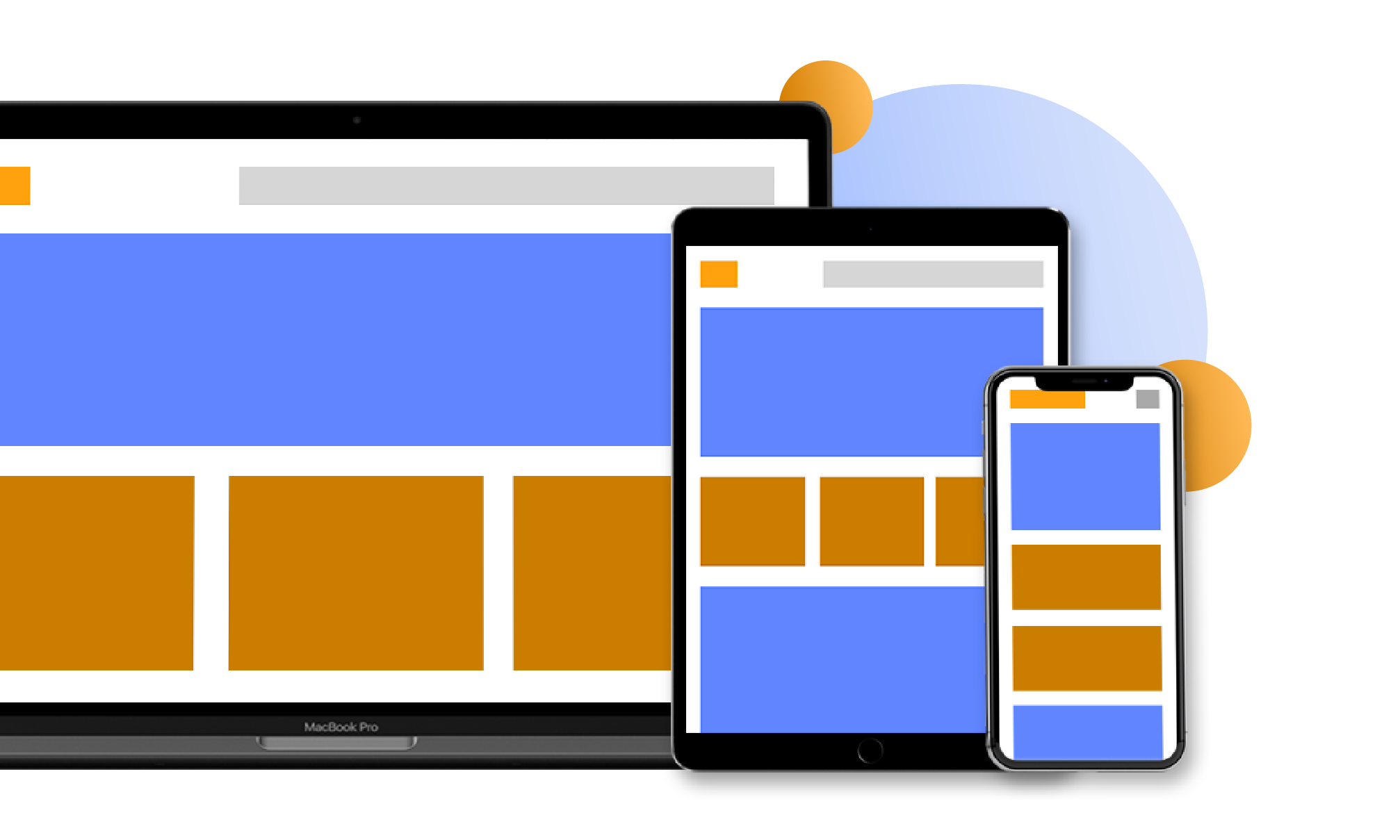 What we do Responsive web design 30.75x