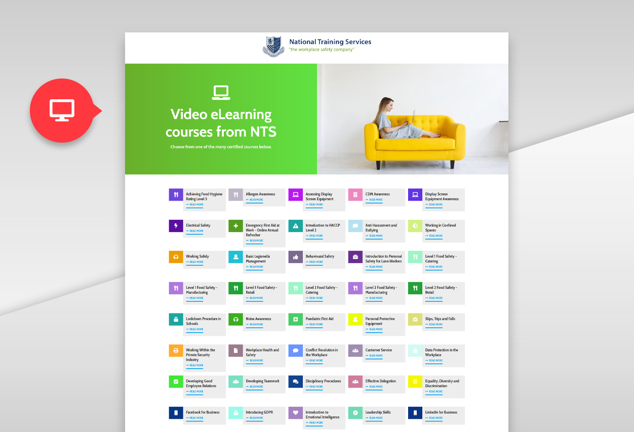 nts elearning web desktop