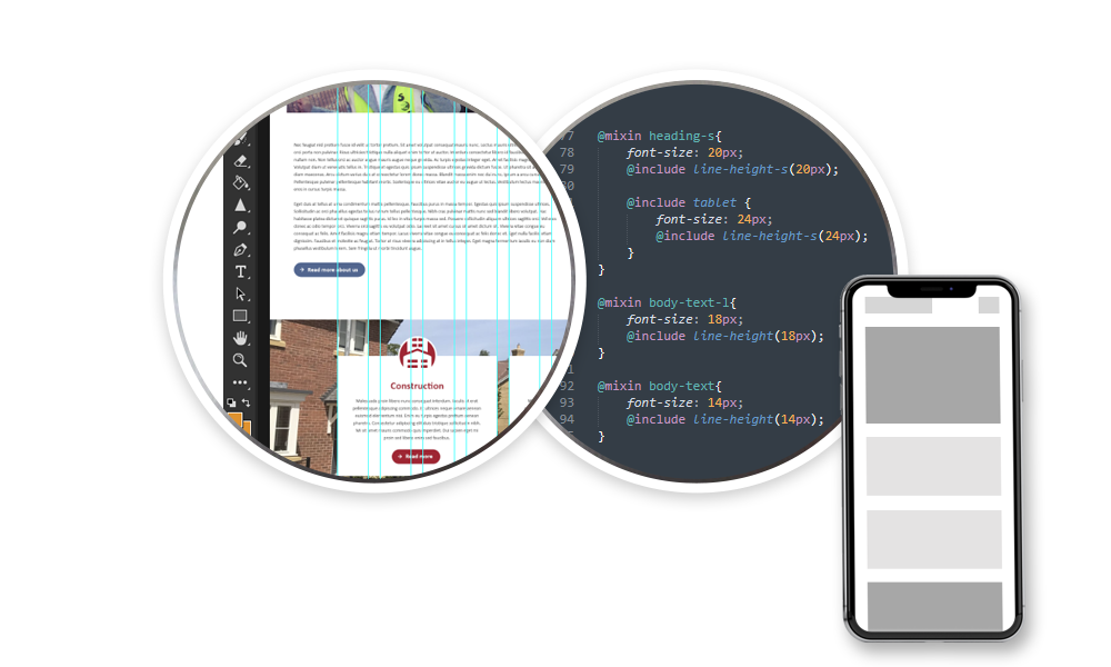 what is responsive split